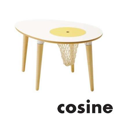 cosine(コサイン) 子供用家具/タマゴテーブル(ネット付)/KI-09NT-D