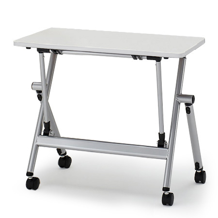 イトーキ 折りたたみテーブル NXシリーズ 天板抗菌加工 アジャスターなし(幕板なし) 幅75cm 奥行50cm 【自社便 開梱・設置付】