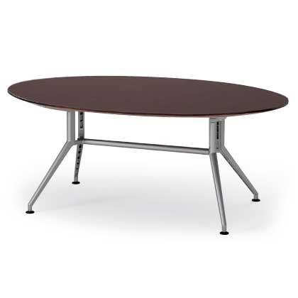 イトーキ 会議テーブルDDシリーズ(120°脚・楕円型)W240【自社便/開梱・設置付】