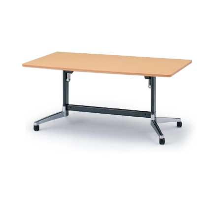 イトーキ テーブル/DBシリーズ 120°脚/角型天板折りたたみタイプ W160×D80【自社便/開梱・設置付】
