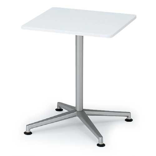 イトーキ テーブルDEシリーズ/十字脚角型(正方形)アジャスター付 W75×D75【自社便/開梱・設置付】