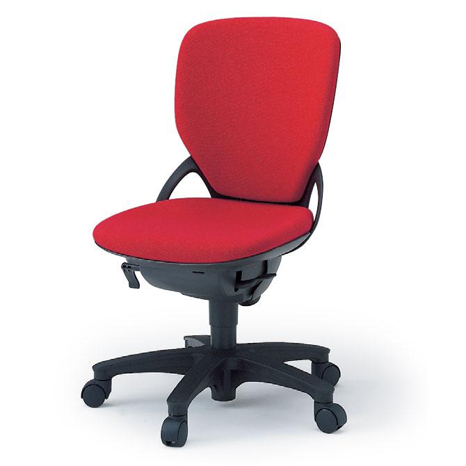 オフィスチェア イトーキ プレーゴチェア ハイバック/・シートアングルストッパー付(GA/布張地)/肘なし/樹脂脚
