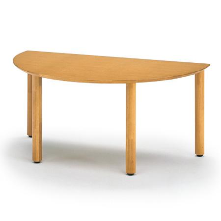 イトーキ リコットシリーズ[C-02]/テーブル 半円型 W160×D90cm【自社便/開梱・設置付】