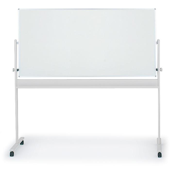 イトーキ 回転型ホワイトボード(両面ホワイト)外寸:W194×H180cm/板面:W180×H90cm【自社便/開梱・設置付】
