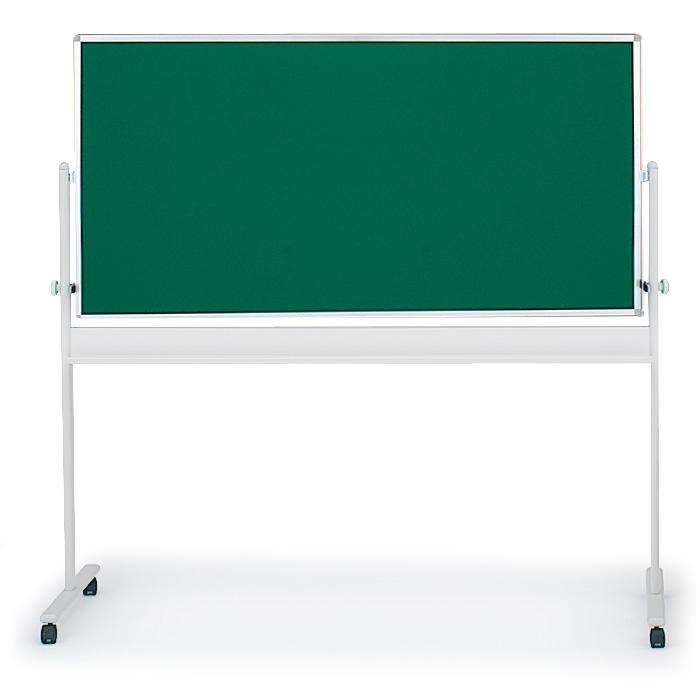 イトーキ 回転コンビ型ホワイトボード(ホワイト+黒板)外寸:W194×H180cm/板面:W180×H90cm【自社便/開梱・設置付】