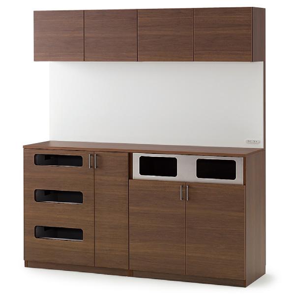 イトーキ 上棚付分別+リサイクルキャビネット H200【自社便/開梱・設置付】