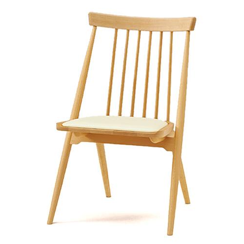 待合椅子 ロビーチェア スタッキング可能 イトーキ ピレム 木製チェア 座パッド付(ビニールレザー張り) 【自社便/開梱・設置付】