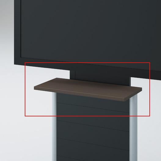 イトーキ ALシリーズ ディスプレイスタンド専用オプション棚 【自社便/開梱・設置付】