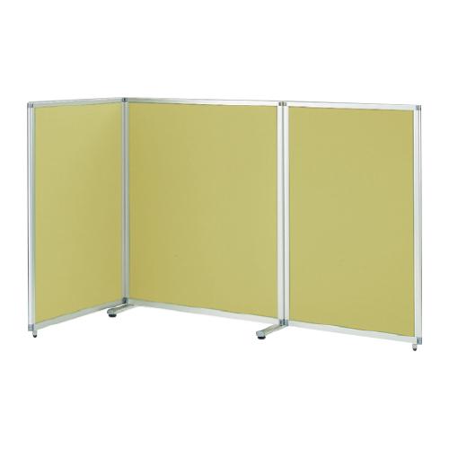 間仕切り スクリーン スクリーンパネル Kタイプ 3連パネル 幅301cm 高さ140.4cm クロスパネル アジャスター付 【自社便/開梱・設置付】