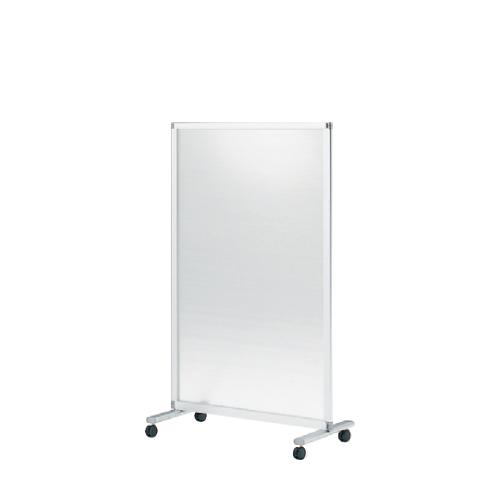 間仕切り パーテーション スクリーンパネルKタイプ 1連パネル 単独用 幅90cm 高さ145cm 樹脂パネル(キャスター付) 【自社便/開梱・設置付】
