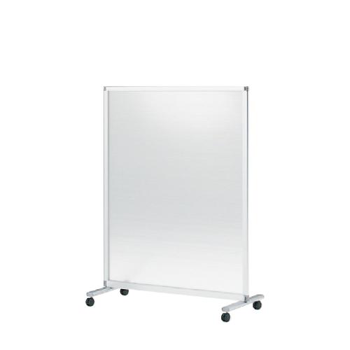 間仕切り パーテーション スクリーンパネルKタイプ 1連パネル 単独用 幅121cm 高さ145cm 樹脂パネル(キャスター付) 【自社便/開梱・設置付】