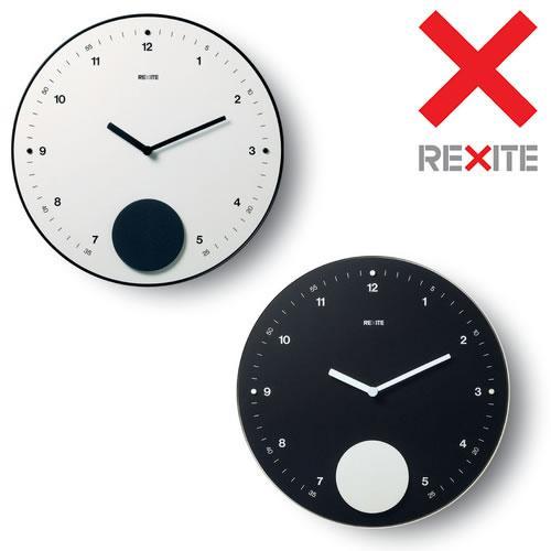 REXITE(レキサイト) 振り子時計 大判(ウォールクロック)APPUNTAMENTO(アプンタメント)