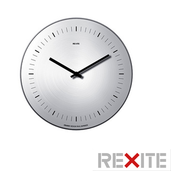 Rexite Requisite Wall Clock Large Clocks Orario Stainless Steel No Digits Displayed