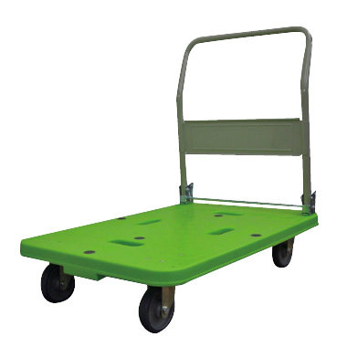 イトーキ 運搬車(台車)樹脂製/折りたたみハンドルタイプ W90×D60【自社便/開梱・設置付】