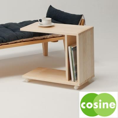 cosine(コサイン) ワゴンテーブル/WI-05NM
