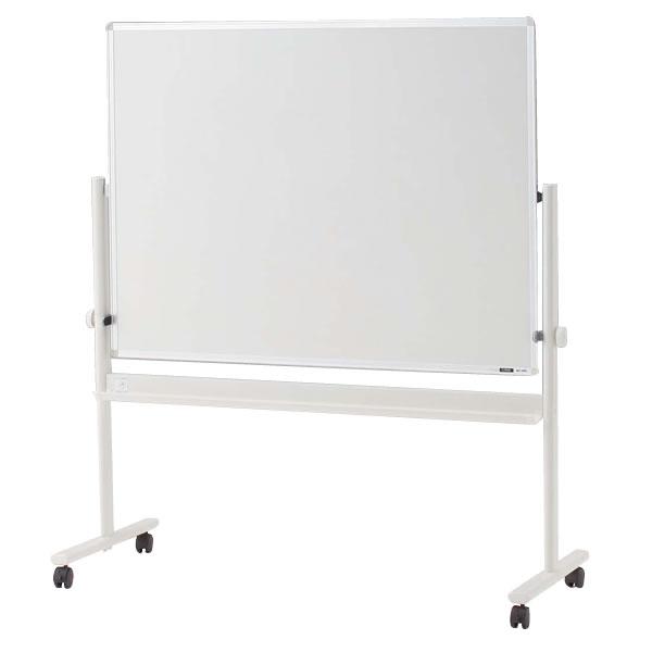 イトーキ 脚付き ホーロー ホワイトボード(片面ホワイト)ロータイプ/外寸:W134×H148cm/板面:W120×H90cm 【自社便/開梱・設置付】