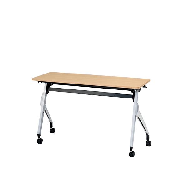 イトーキ折りたたみテーブル スクート 天板抗菌加工 幕板なしタイプ(棚なし) 幅120cm 奥行45cm 【自社便 開梱・設置付】