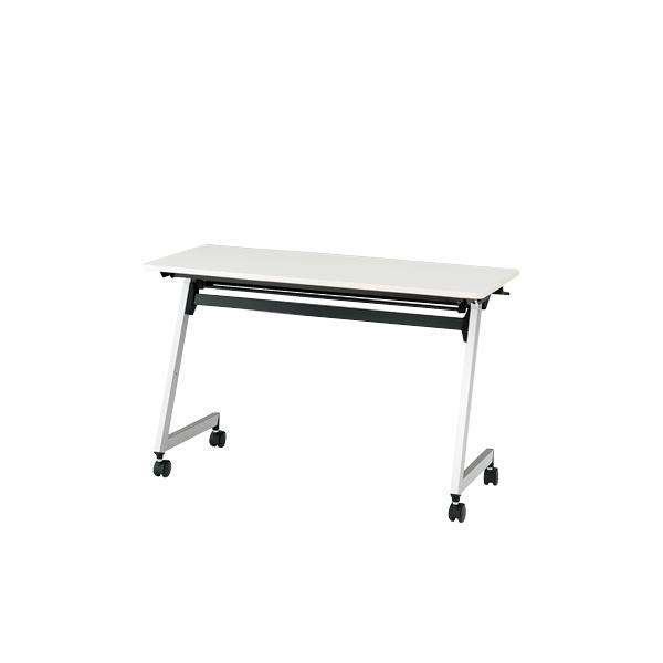 イトーキ 折りたたみテーブル HYシリーズ 天板抗菌加工 幕板なしタイプ(棚付) 幅120cm 奥行60cm 【自社便 開梱・設置付】