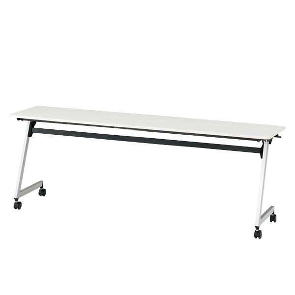 イトーキ 折りたたみテーブル HYシリーズ 天板抗菌加工 幕板なしタイプ(棚なし) 幅210cm 奥行60cm 【自社便 開梱・設置付】