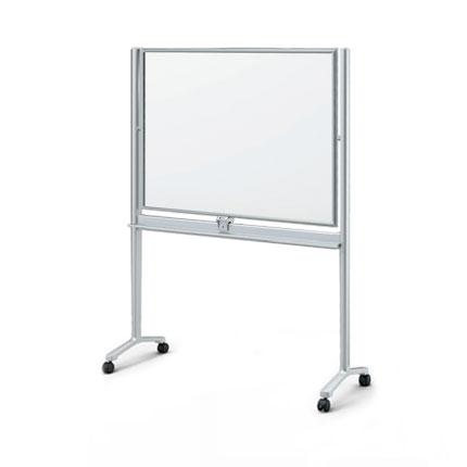 ホワイトボード 脚付き ALシリーズ/W134.3×H180cm【自社便/開梱・設置付】