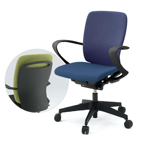 事務椅子/ ITOKI(イトーキ) フルゴチェア fulgo ハイバック 布張り 固定肘