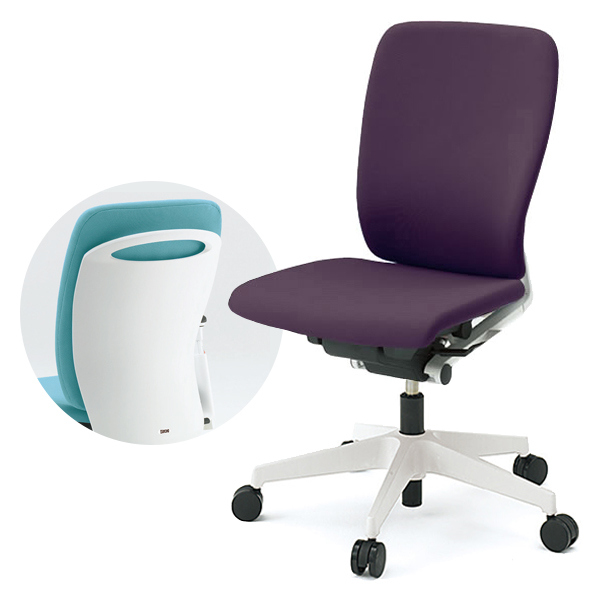 オフィスチェア/ ITOKI(イトーキ) フルゴチェア fulgo ハイバック 布張り 肘なし