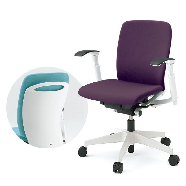 事務椅子/ ITOKI(イトーキ) フルゴチェア fulgo ローバック 布張り 可動肘