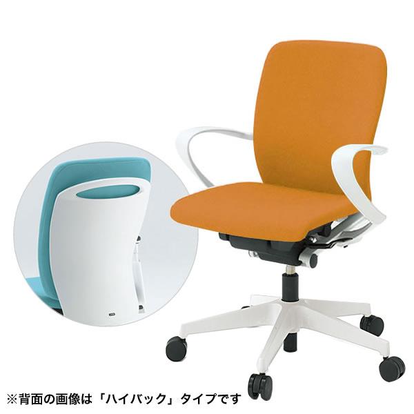 オフィスチェア/ ITOKI(イトーキ) フルゴチェア fulgo ローバック 布張り 固定肘