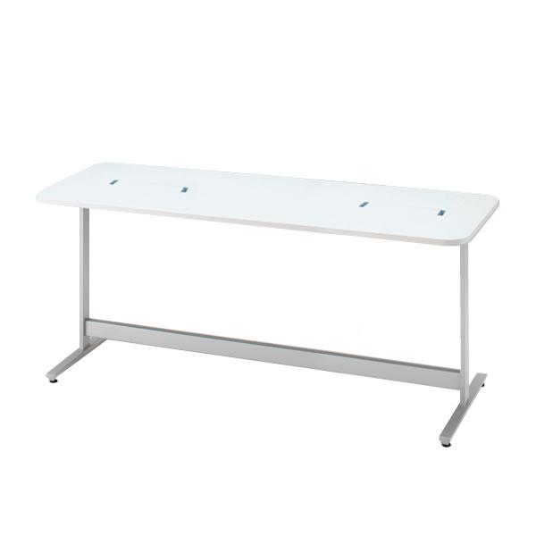 ナーステーブル/イトーキ メディワークテーブル 角型/配線対応天板タイプ W210×D80cm 【自社便/開梱・設置付】
