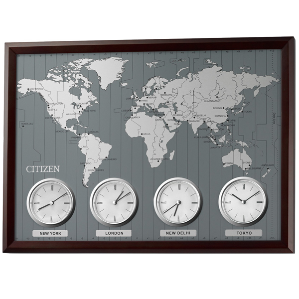 Soho st rakuten global market citizen friendly office wall clocks citizen friendly office wall clocks world time n gumiabroncs Images