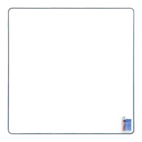 ホワイトボード/マグネットタイプ 幅87.5×高さ87.5cm【自社便/開梱・設置付】