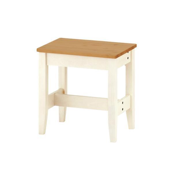 【Web限定】イトーキ リビング学習 椅子/ カモミール リビングベンチ 幅45cm GCL-B04-NW