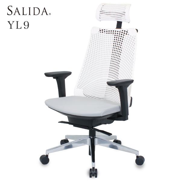 オフィスチェア イトーキ サリダチェア YL9 サリダ 回転 チェア 可動肘付