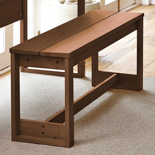 リビングベンチ 天然木  イトーキ 幅110cm CST-B11-BR