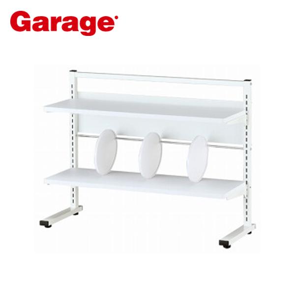 Garage 机上ラック 幅84.5cm 高さ63.9cm YS-54