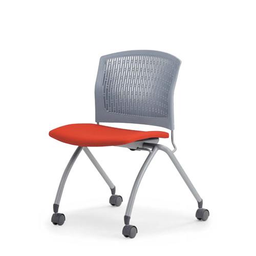 個人宅配送不可 内祝い AICO ミーティングチェア 会議椅子 会議用チェア 椅子 いす イス 会議イス 打ち合わせ 応接 キャスター脚 肘なし 接客 会議用イス アイコ オフィスチェア セール 特集 会議チェア MC-386 水平スタック 背張りなし