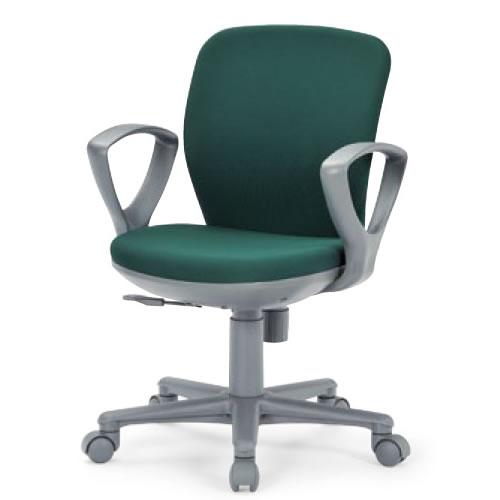 aico アイコ オフィスチェアー 椅子 イス チェア セミローバック サークル肘タイプ OA-1055EJ