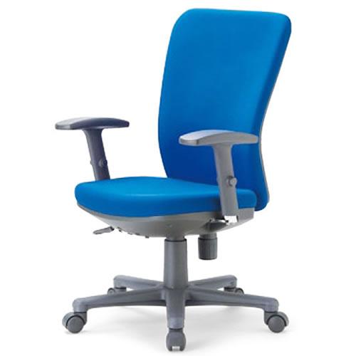 aico アイコ オフィスチェアー 椅子 イス チェア ミドルバック 可動肘付 OA-1255AJ