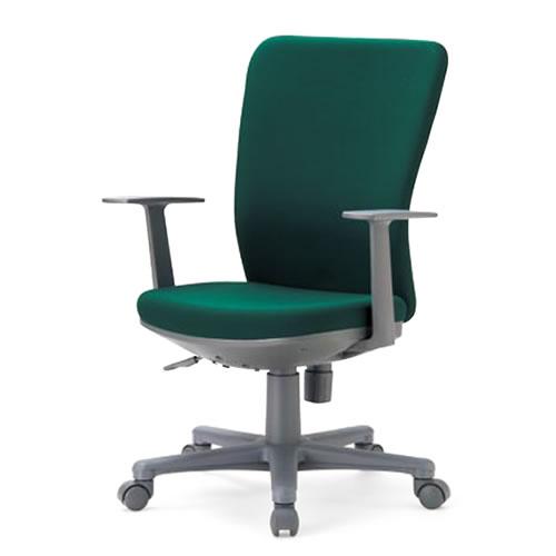 aico アイコ オフィスチェアー 椅子 イス チェア ミドルバック T型肘付 OA-1255TJ