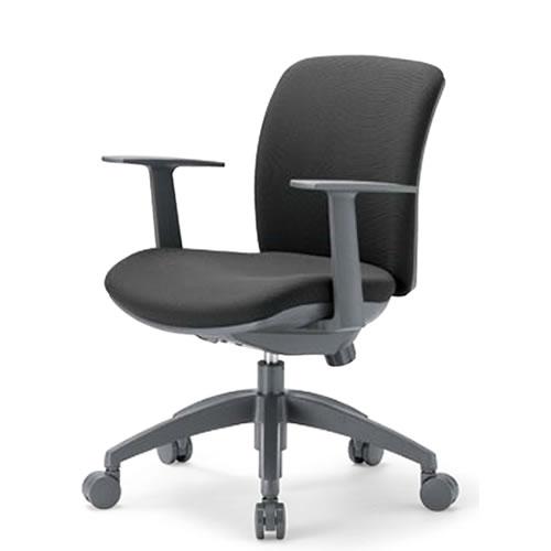 aico アイコ オフィスチェアー 椅子 イス チェア ローバック T型肘付 OA-2115TJ
