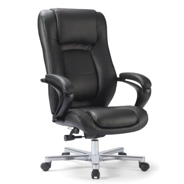 アイコ オフィスチェア プレジデントチェア ハイバック 社長椅子 役員用 椅子 肘付き RB-1855