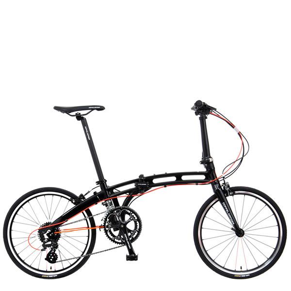 ドッペルギャンガー ミニベロ 20インチ折りたたみ自転車 Giant Killing ジャイアント・キリング プレミアムジェットブラックDOPPELGANGER 202X