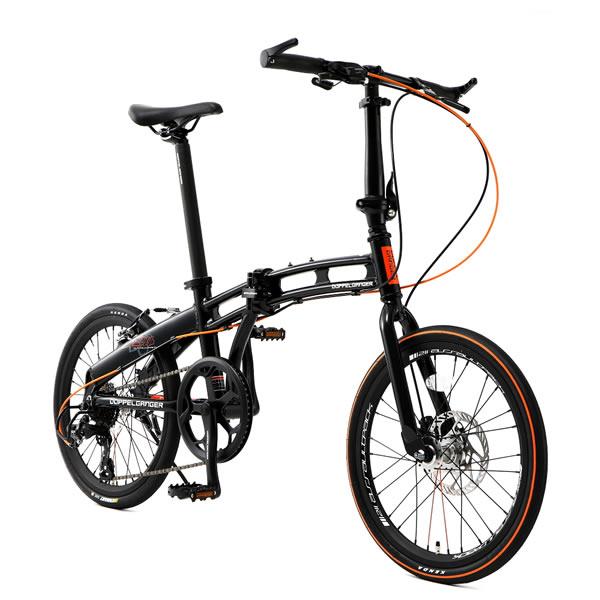 ドッペルギャンガー ミニベロ 20インチ折りたたみ自転車 assault pack アサルトパック ナイトホーク DOPPELGANGER 211-R-DP