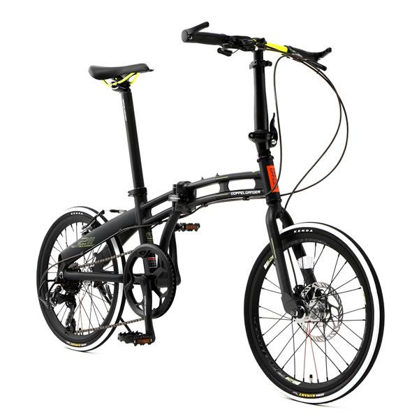 ドッペルギャンガー ミニベロ 20インチ折りたたみ自転車 assaul tpack アサルトパック スカッドルミネセンス DOPPELGANGER 211-R-GY