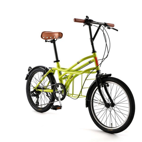 自転車 20インチ ミニベロ ドッペルギャンガーROADYACHTロードヨット クレーヴェン 7段変速機 DOPPELGANGER 330-N-GN