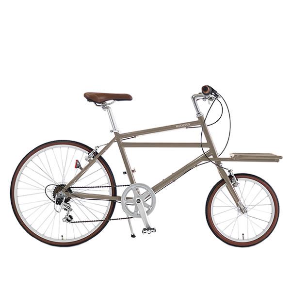 WACHSENヴァクセン 24インチ カーゴバイク 6段変速 自転車 Nicotニコット ベージュWBG-2401-BG