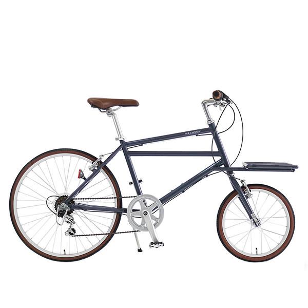 WACHSENヴァクセン 24インチ カーゴバイク 6段変速 自転車 Nicotニコット グレーWBG-2401-GY