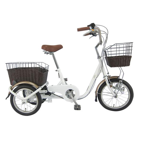 自転車 SWING CHARLIE ロータイプ三輪自転車G スイングチャーリー ホワイト ミムゴ MIMUGO MG-TRE16G