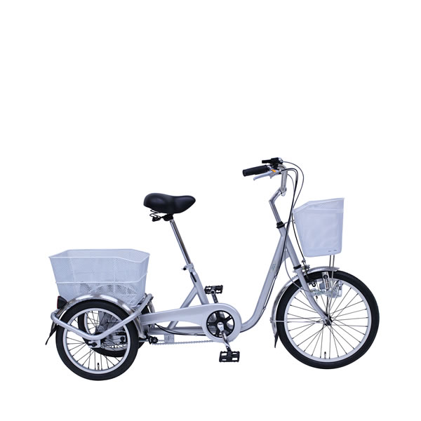 SWING CHARLIE 三輪自転車E スイングチャーリー シルバー 自転車 ミムゴMIMUGO MG-TRE20E