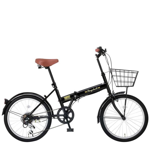 Raychell ミニベロ レイチェル 20インチ 折りたたみ 自転車 ミニベロ FB-206R 20×1.75 20インチ 20×1.75 シマノ6段変速 ブラック24212, Fashion Recycle ビーコレクト:9c45aedf --- sunward.msk.ru